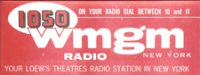 1050 AM New York WMGM WHN WUKQ WEVD Peter Tripp