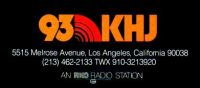 930 Los Angeles, KHJ, KKHJ, KRTH, Don Lee, Robert W. Morgan, The Real Don Steele, Charlie Van Dyke, Roger Christian, Gary Mack, Boss Radio, 93/KHJ