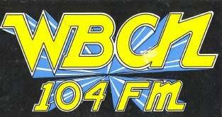 WBCN Boston 80s Logo